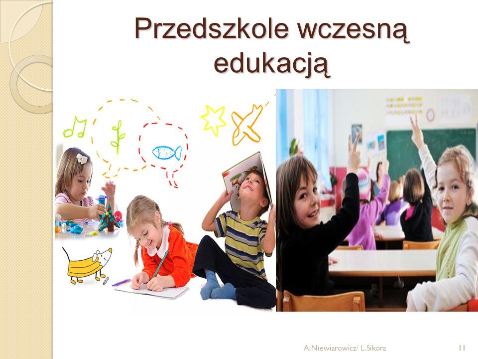 Przedszkole wczesną edukacją