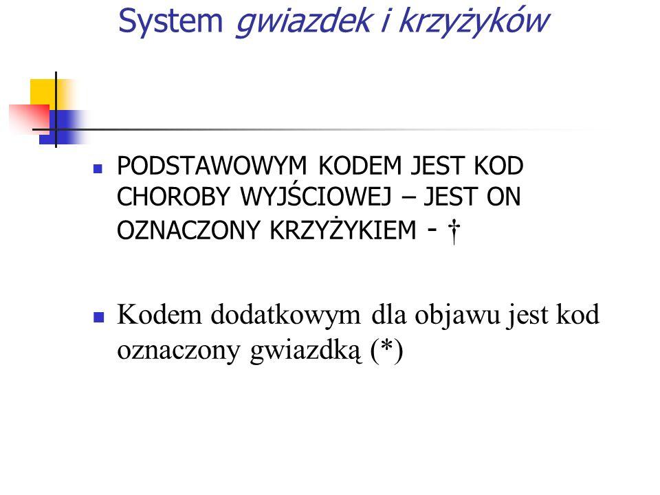 System gwiazdek i krzyżyków