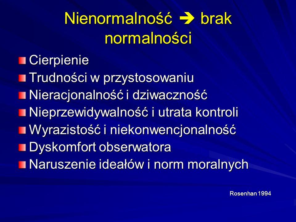 Nienormalność  brak normalności