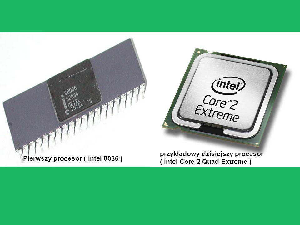 przykładowy dzisiejszy procesor