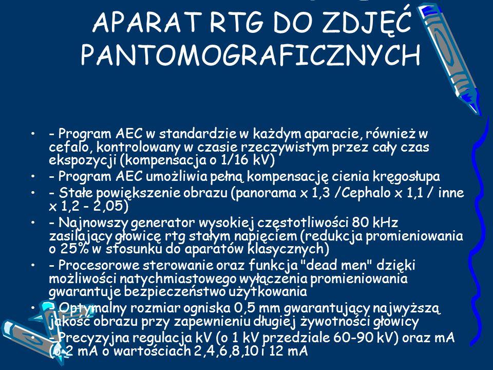 TROPHY ORTHO SLICE 1000 APARAT RTG DO ZDJĘĆ PANTOMOGRAFICZNYCH