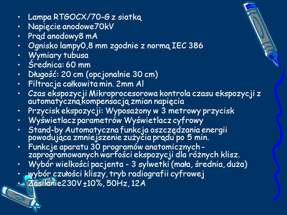 Lampa RTGOCX/70-G z siatką