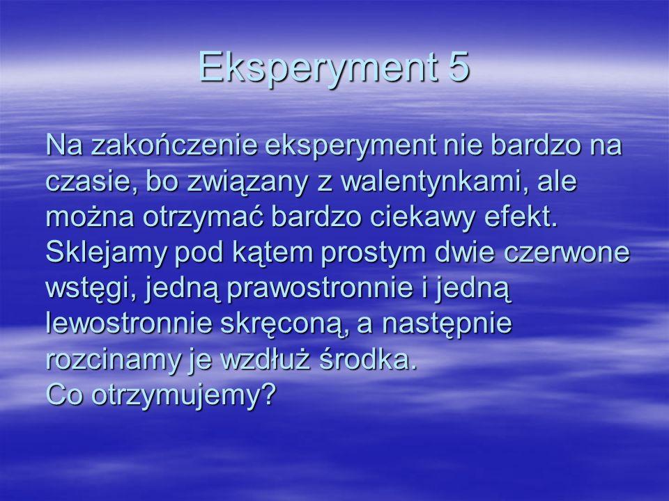 Eksperyment 5