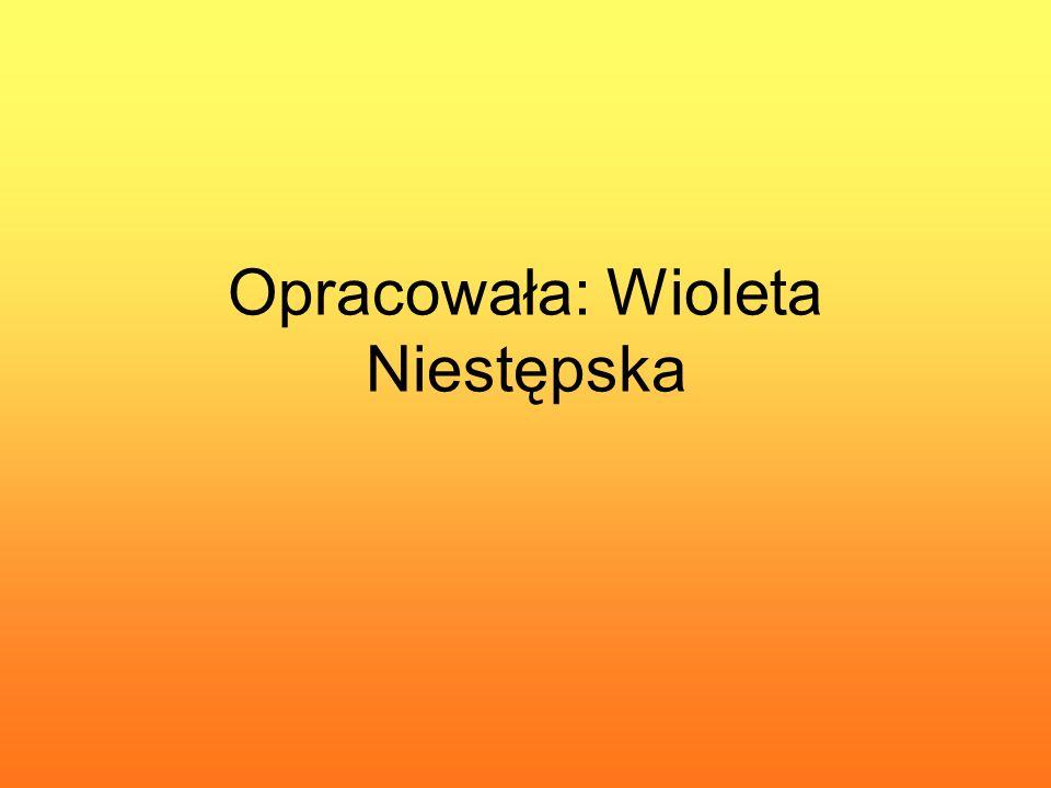 Opracowała: Wioleta Niestępska