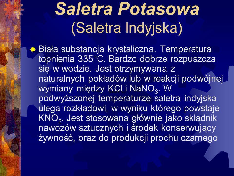 Saletra Potasowa (Saletra Indyjska)
