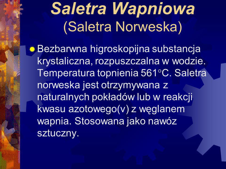 Saletra Wapniowa (Saletra Norweska)