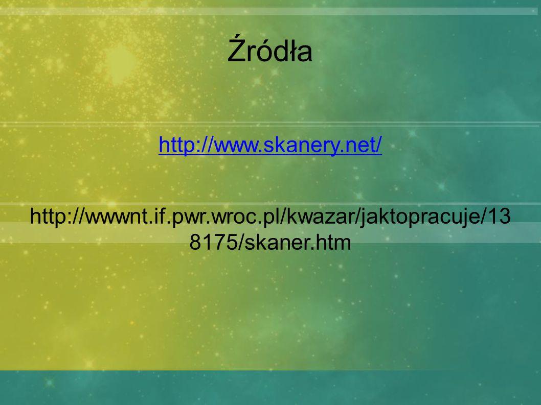 http://wwwnt.if.pwr.wroc.pl/kwazar/jaktopracuje/13 8175/skaner.htm
