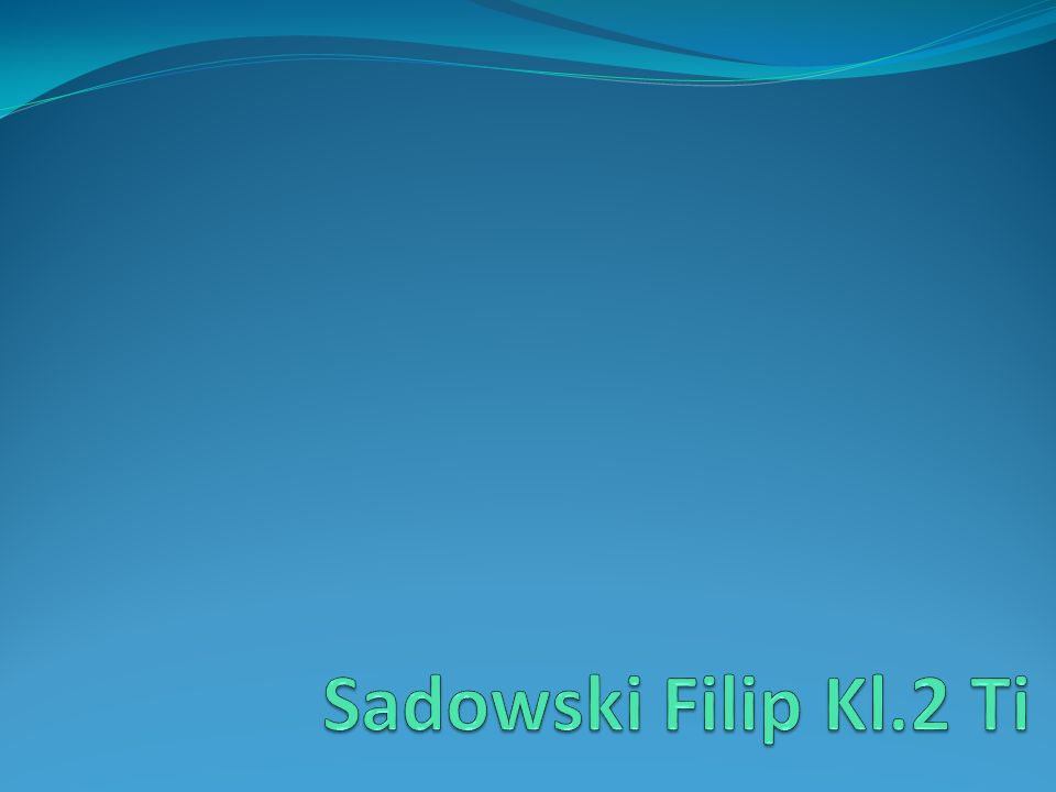 Sadowski Filip Kl.2 Ti