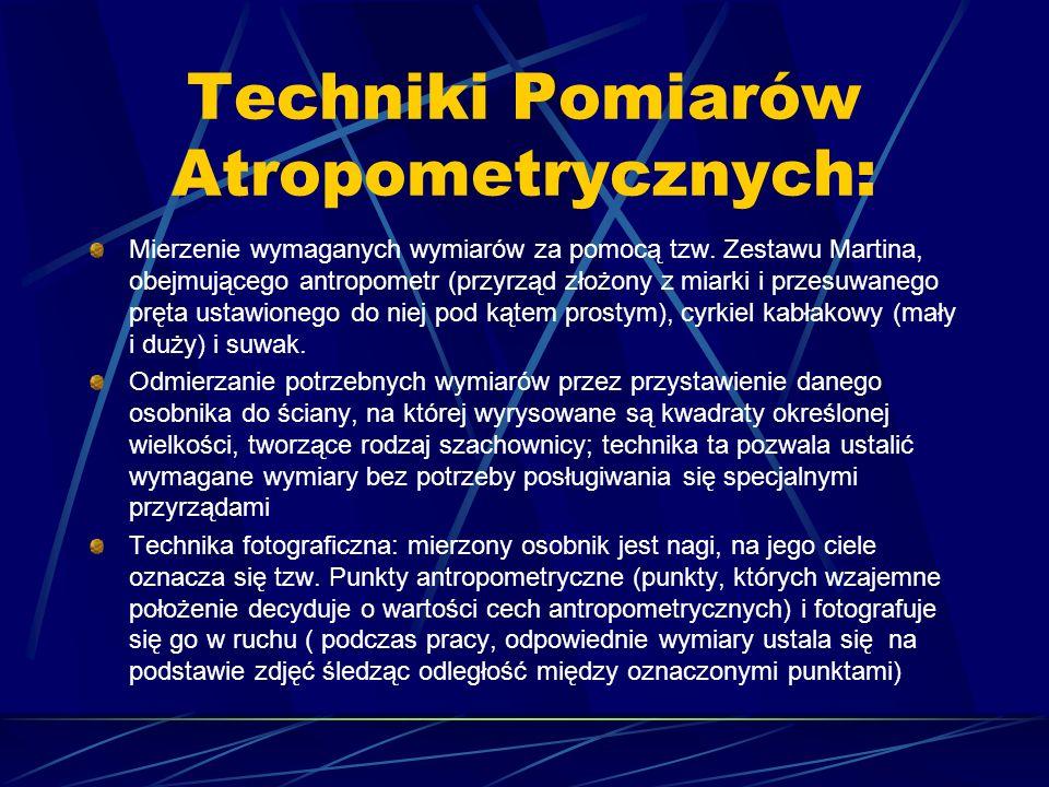 Techniki Pomiarów Atropometrycznych: