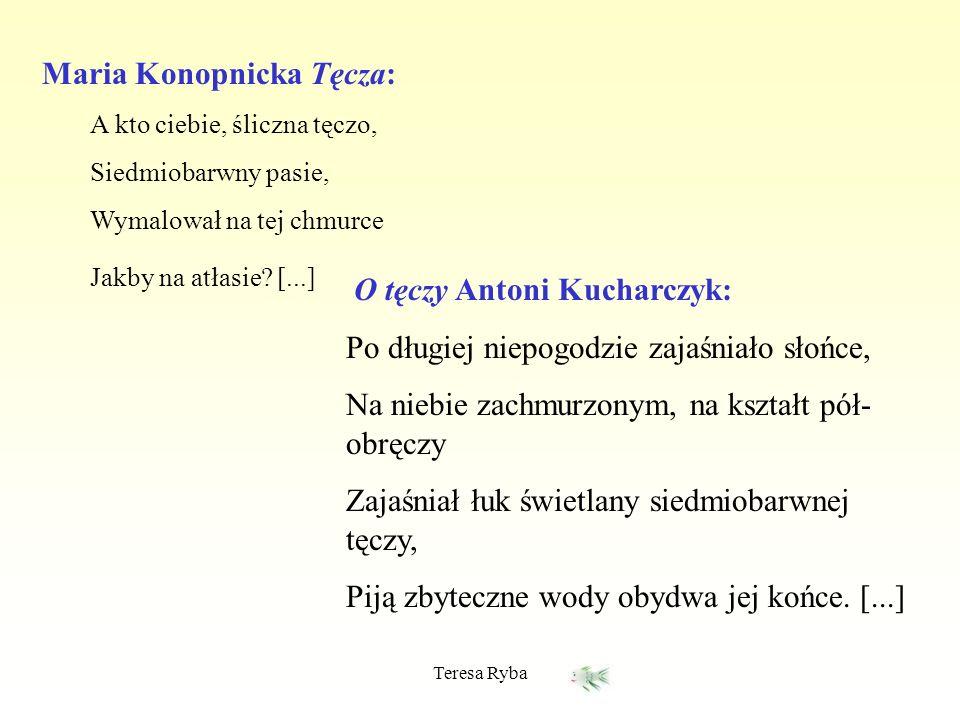 Maria Konopnicka Tęcza: