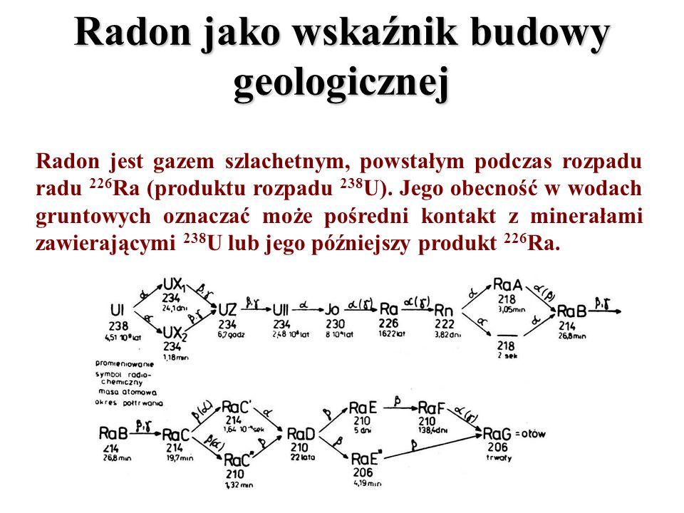 Radon jako wskaźnik budowy geologicznej