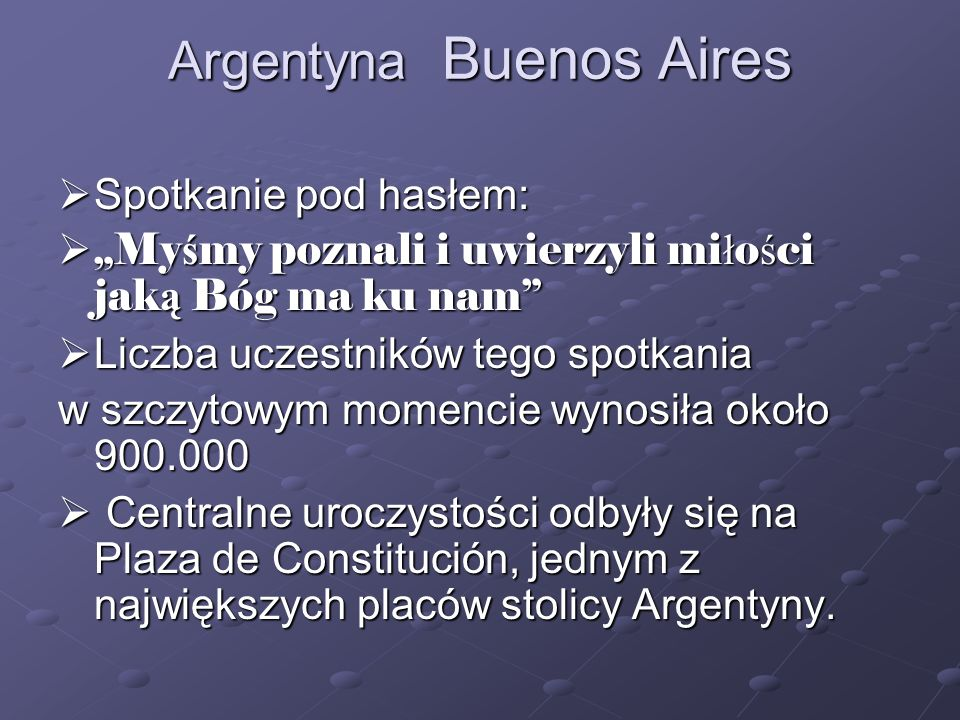 Argentyna Buenos Aires