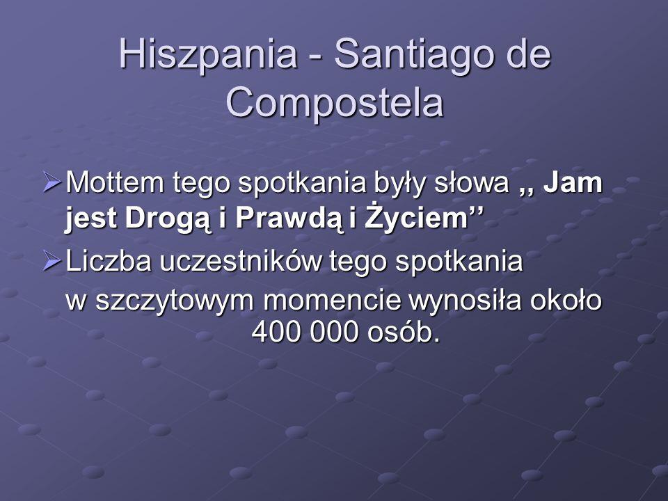 Hiszpania - Santiago de Compostela
