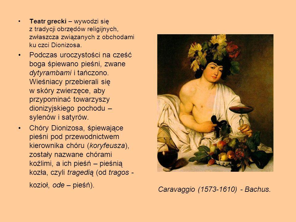 Caravaggio (1573-1610) - Bachus.