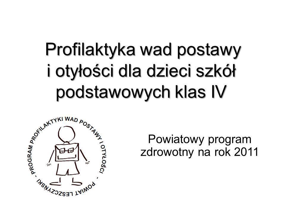 Powiatowy program zdrowotny na rok 2011