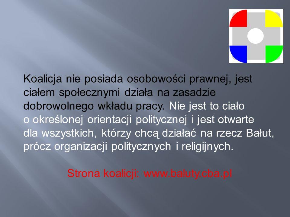 Strona koalicji: www.baluty.cba.pl