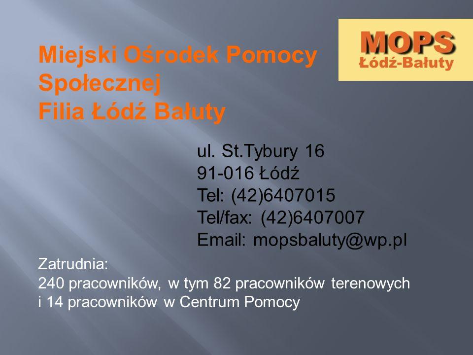 Miejski Ośrodek Pomocy Społecznej Filia Łódź Bałuty