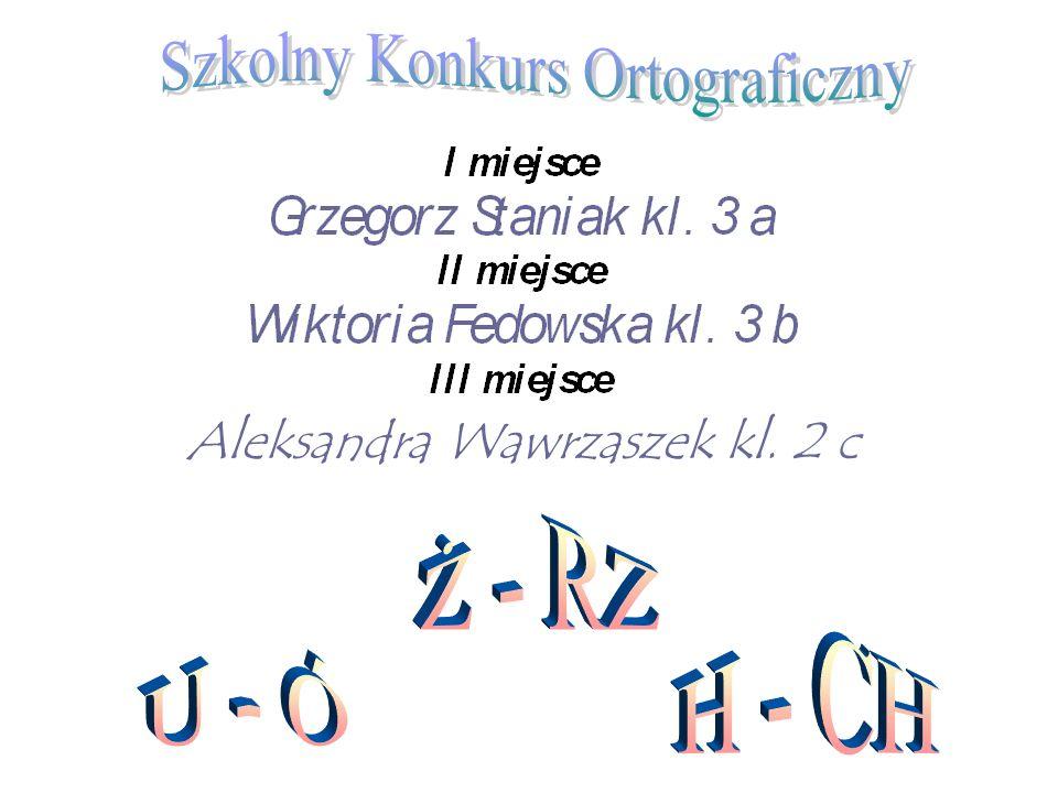 Szkolny Konkurs Ortograficzny