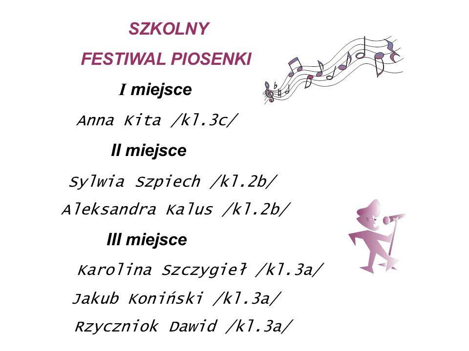 Karolina Szczygieł /kl.3a/