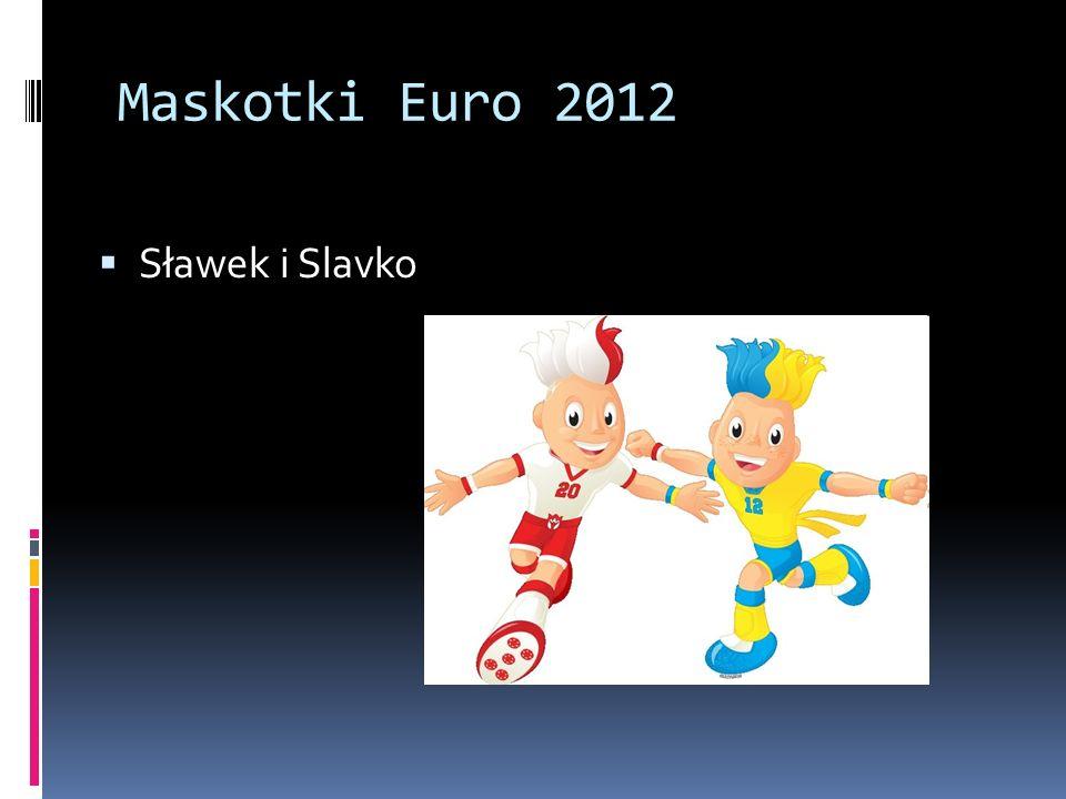 Maskotki Euro 2012 Sławek i Slavko