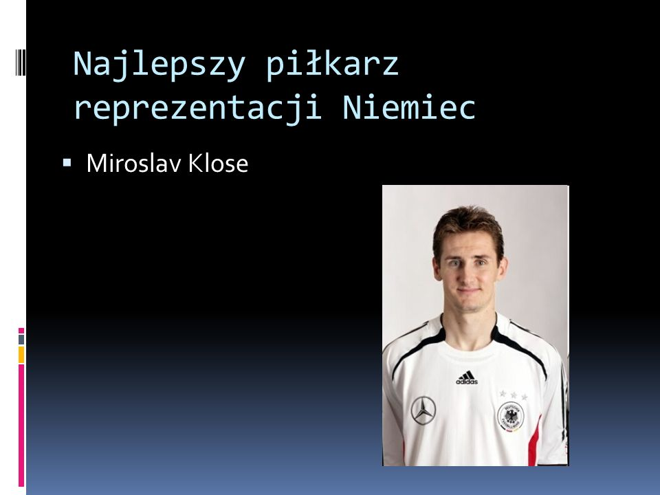 Najlepszy piłkarz reprezentacji Niemiec