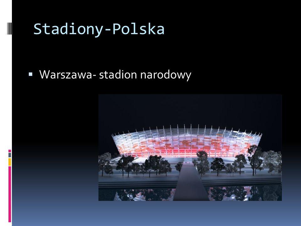 Stadiony-Polska Warszawa- stadion narodowy