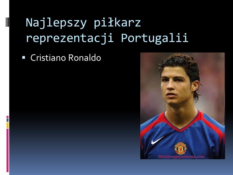 Najlepszy piłkarz reprezentacji Portugalii