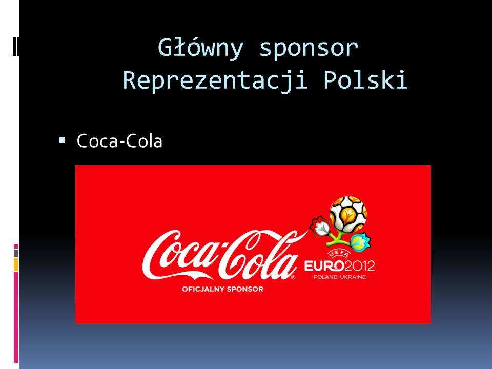 Główny sponsor Reprezentacji Polski