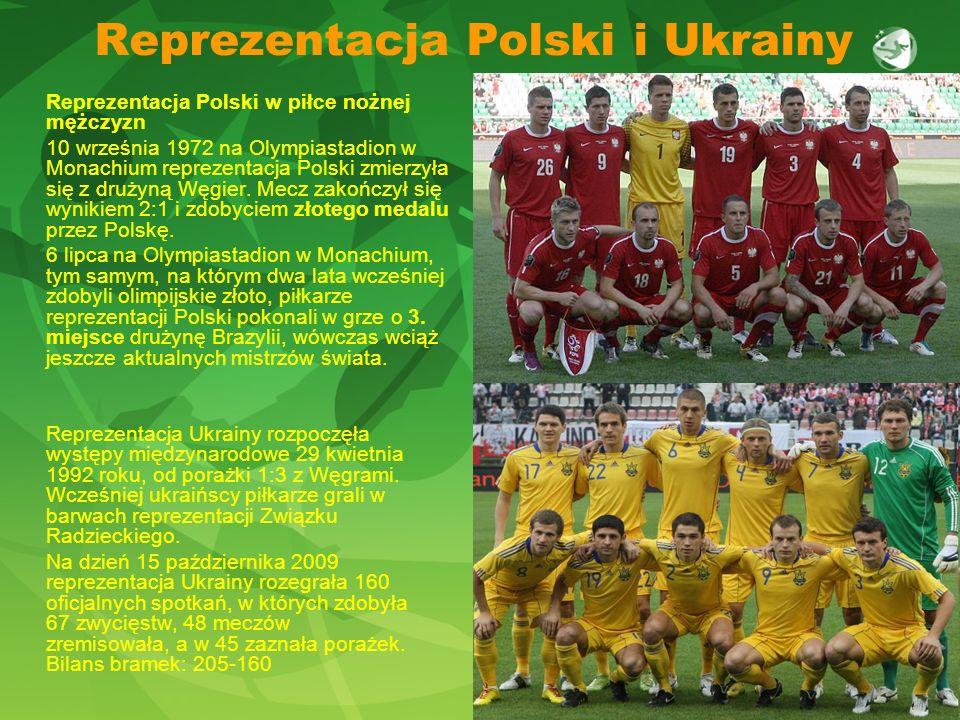 Reprezentacja Polski i Ukrainy