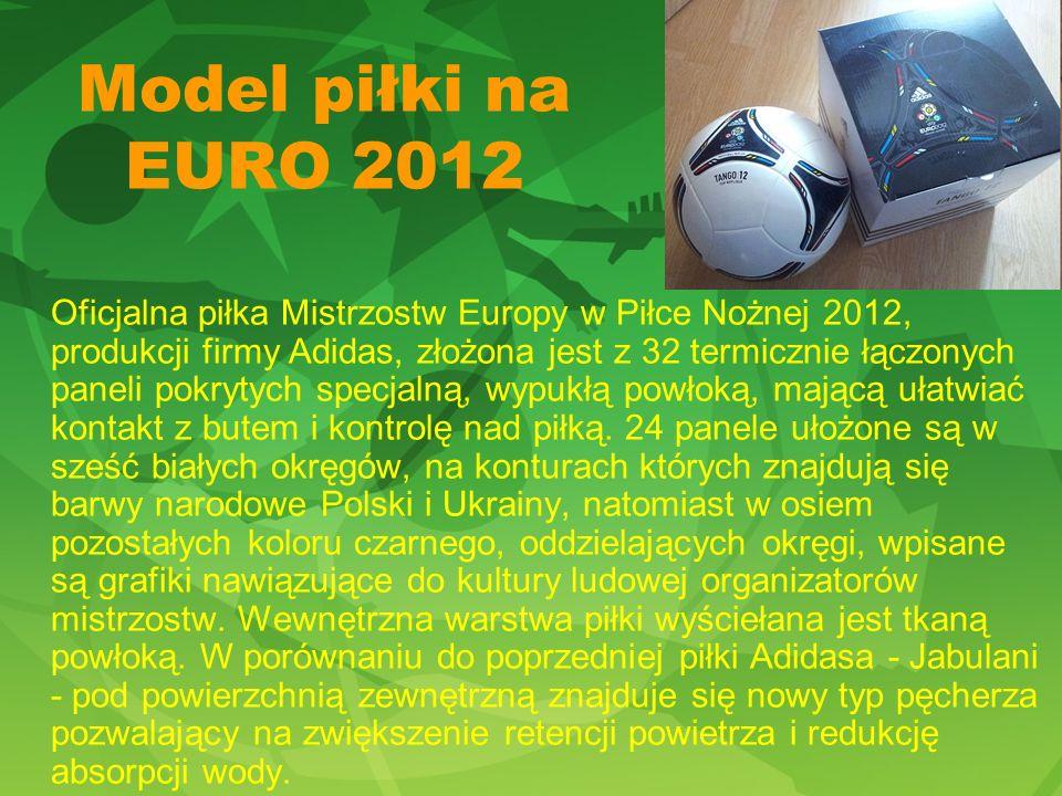 Model piłki na EURO 2012