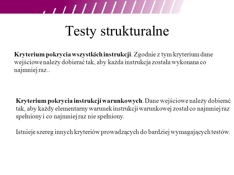 Testy strukturalne