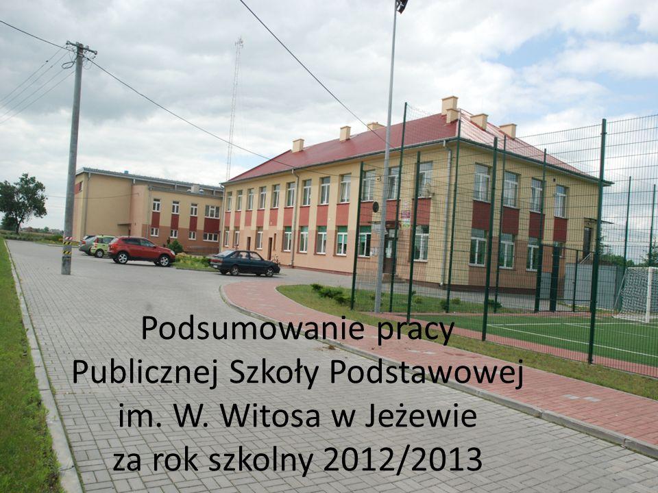 Podsumowanie pracy Publicznej Szkoły Podstawowej im. W
