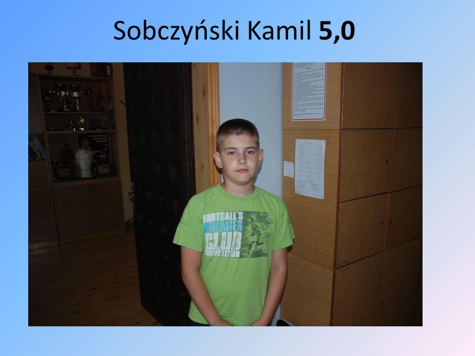 Sobczyński Kamil 5,0