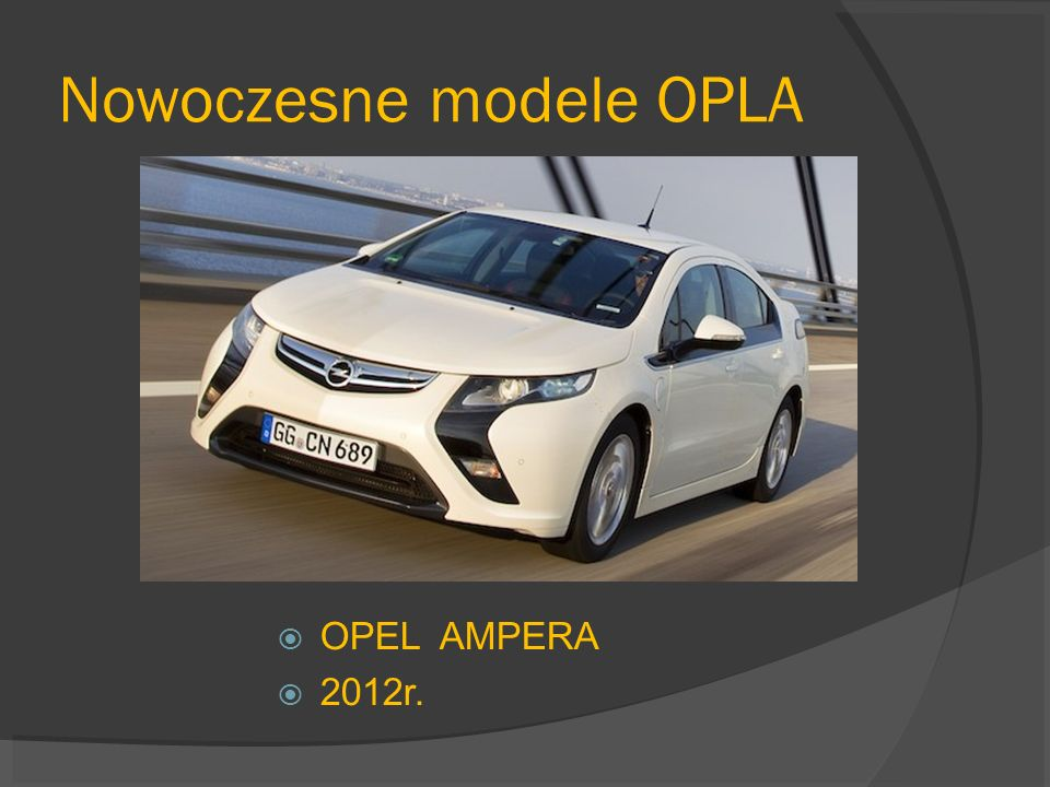 Nowoczesne modele OPLA