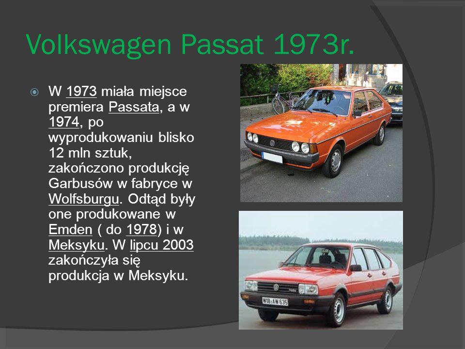 Volkswagen Passat 1973r.