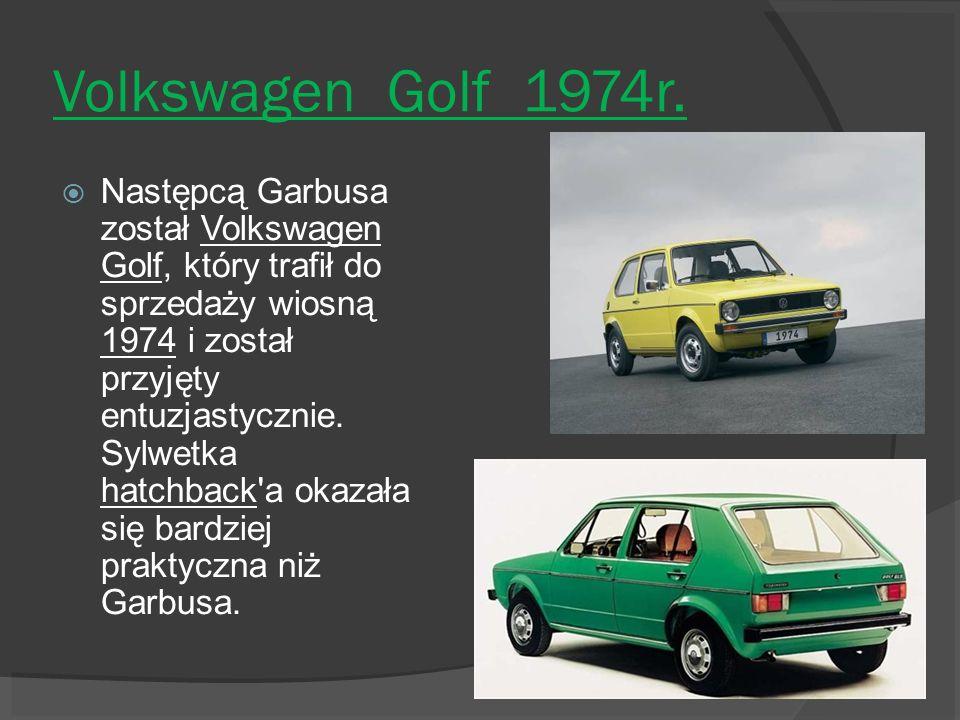 Volkswagen Golf 1974r.