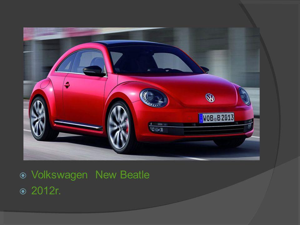 Volkswagen New Beatle 2012r.