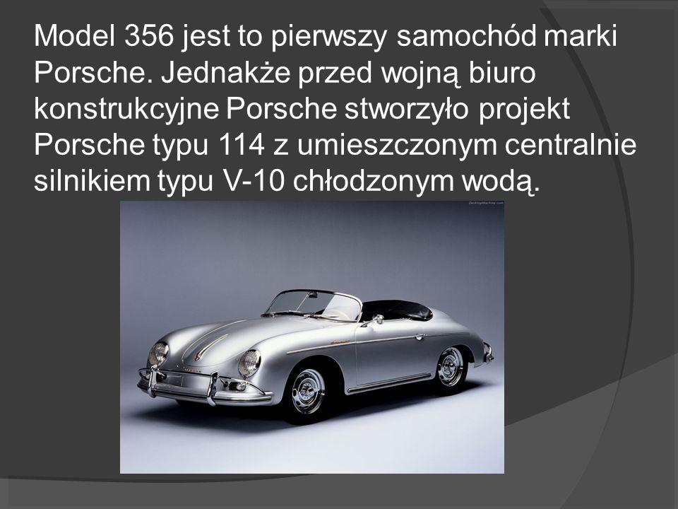 Model 356 jest to pierwszy samochód marki Porsche