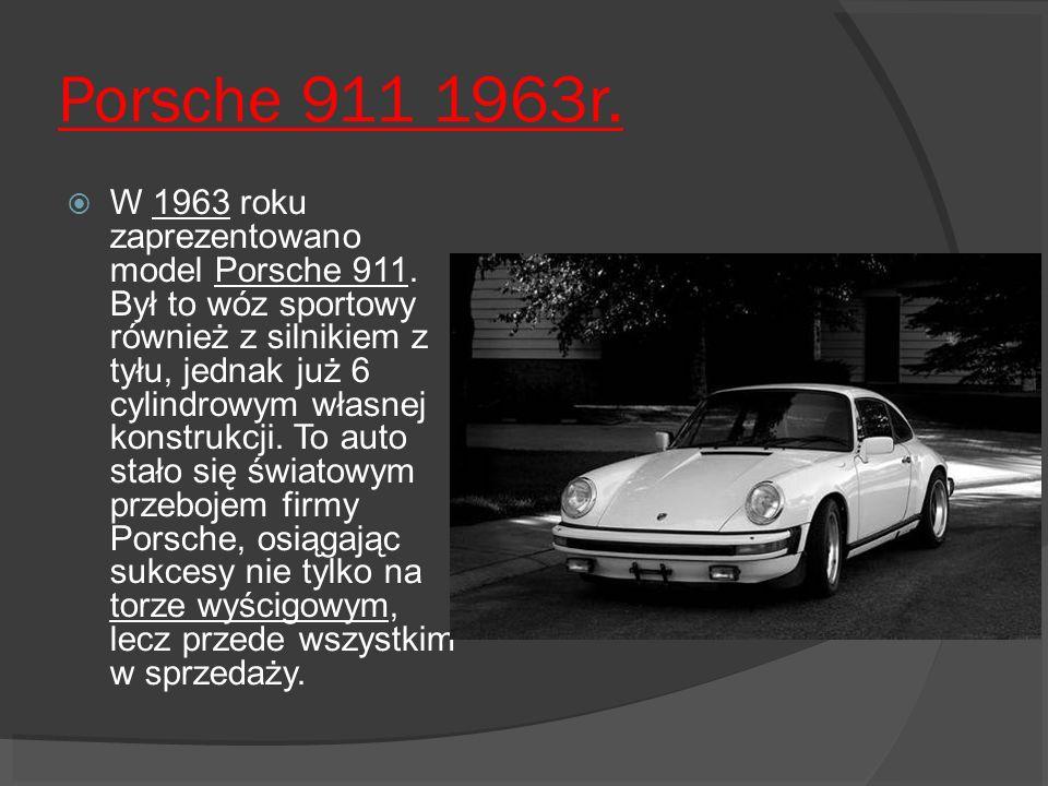 Porsche 911 1963r.