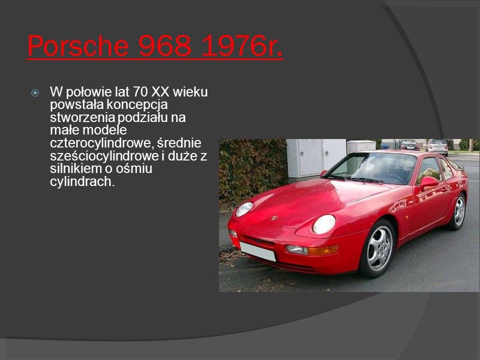 Porsche 968 1976r.