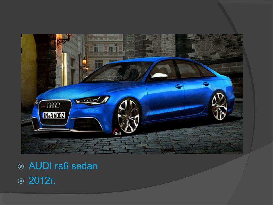 AUDI rs6 sedan 2012r.