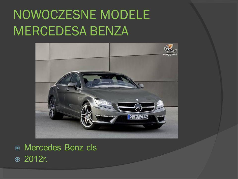 NOWOCZESNE MODELE MERCEDESA BENZA