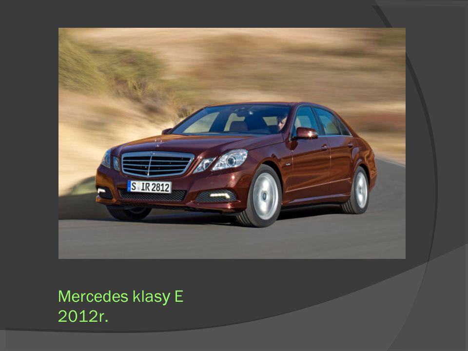 Mercedes klasy E 2012r.