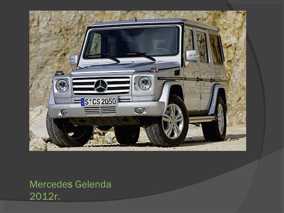 Mercedes Gelenda 2012r.