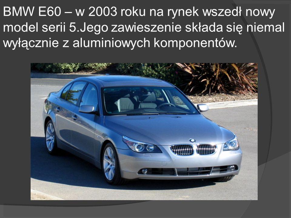 BMW E60 – w 2003 roku na rynek wszedł nowy model serii 5