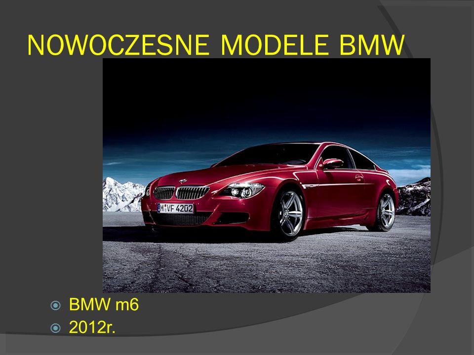 NOWOCZESNE MODELE BMW BMW m6 2012r.