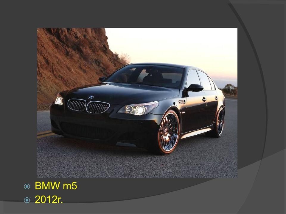 BMW m5 2012r.