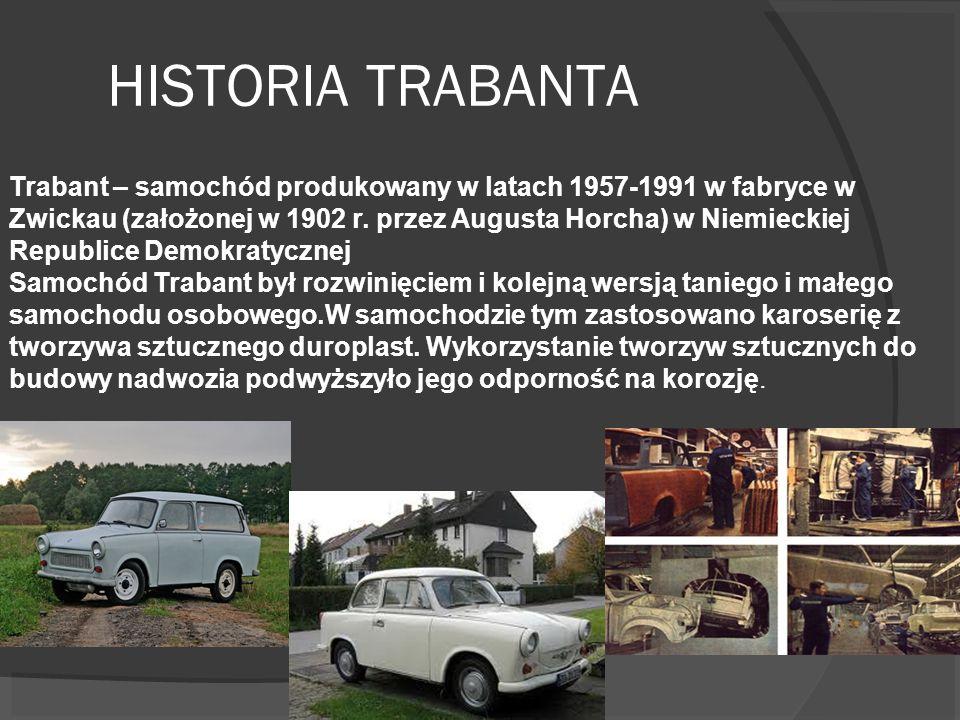 HISTORIA TRABANTA