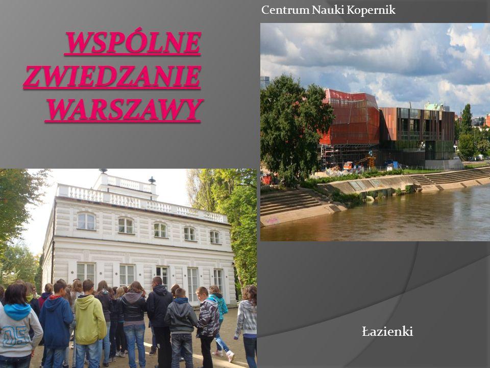 Wspólne zwiedzanie Warszawy