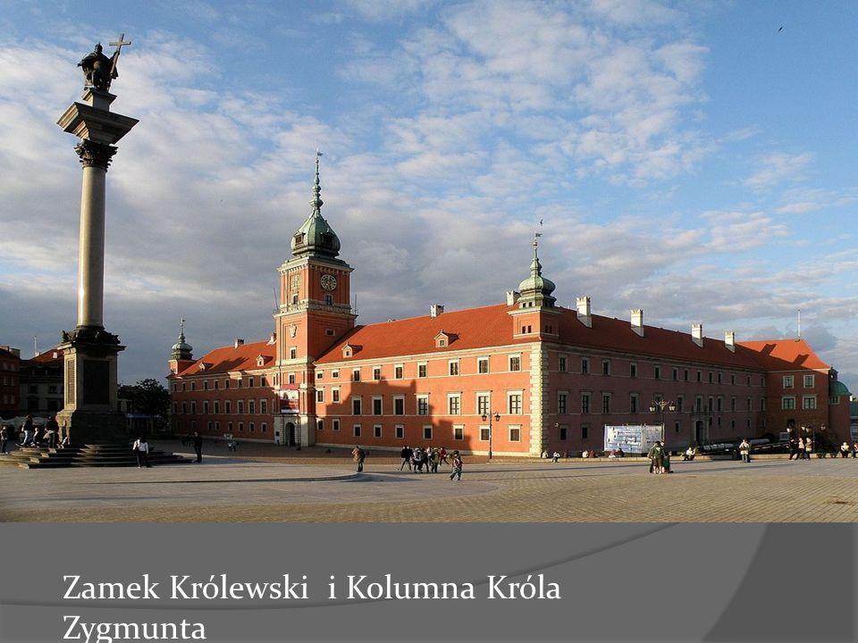 Zamek Królewski i Kolumna Króla Zygmunta